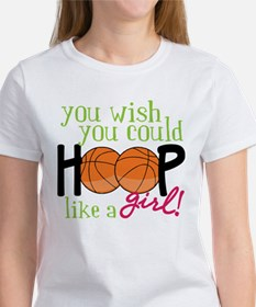 Hoop Like A Girl Tee