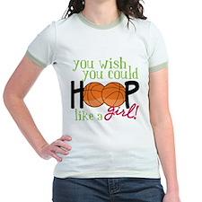Hoop Like A Girl T