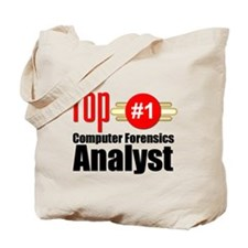 Top Computer Forensics Analyst Tote Bag