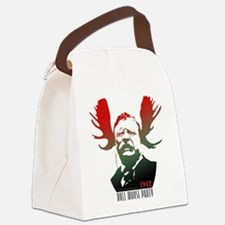 Bull Moose Party Canvas Lunch Bag