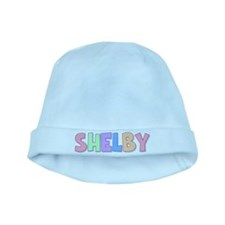 Shelby Rainbow Pastel baby hat