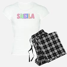 Sheila Rainbow Pastel Pajamas
