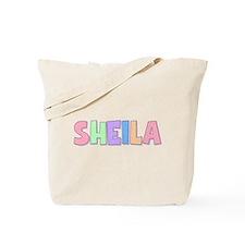 Sheila Rainbow Pastel Tote Bag