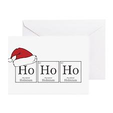 Ho Ho Ho [Chemical Elements] Greeting Cards (Pk of