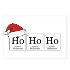 Ho Ho Ho [Chemical Elements] Postcards (Package of