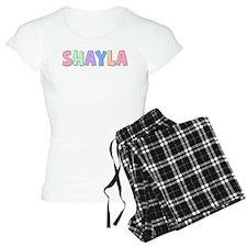 Shayla Rainbow Pastel Pajamas