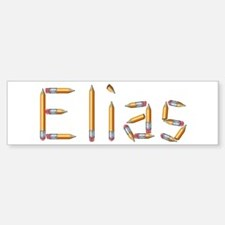 Elias Pencils Bumper Bumper Bumper Sticker