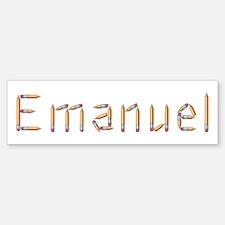 Emanuel Pencils Bumper Bumper Bumper Sticker