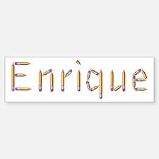 Enrique Pencils Bumper Bumper Stickers