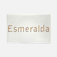 Esmeralda Pencils Rectangle Magnet