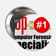 """Top Computer Forensics Specialist 2.25"""" Button"""