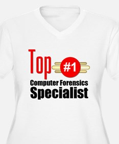 Top Computer Forensics Specialist T-Shirt