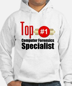 Top Computer Forensics Specialist Hoodie