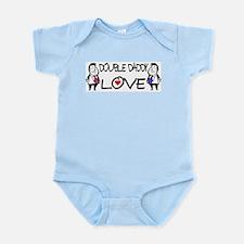 Double Daddy Love Infant Bodysuit