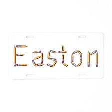 Easton Pencils Aluminum License Plate