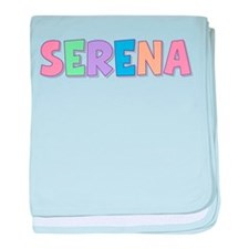 Serena Rainbow Pastel baby blanket