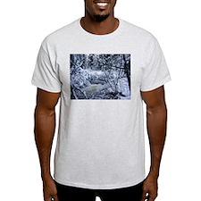 Rushing River Ash Grey T-Shirt