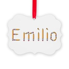 Emilio Pencils Ornament