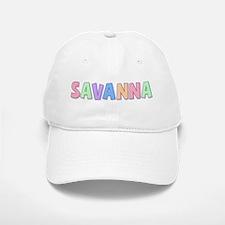 Savanna Rainbow Pastel Baseball Baseball Cap