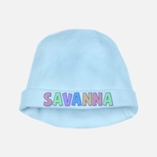 Savanna Rainbow Pastel baby hat