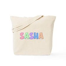 Sasha Rainbow Pastel Tote Bag