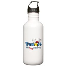 Where Love Means Nothing Water Bottle