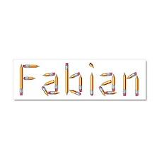 Fabian Pencils 10x3 Car Magnet