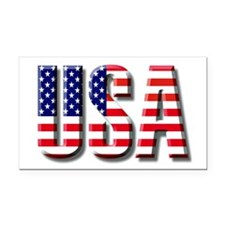 USA.jpg Rectangle Car Magnet