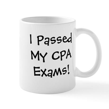 Passed CPA Exams Success Celebration Mug