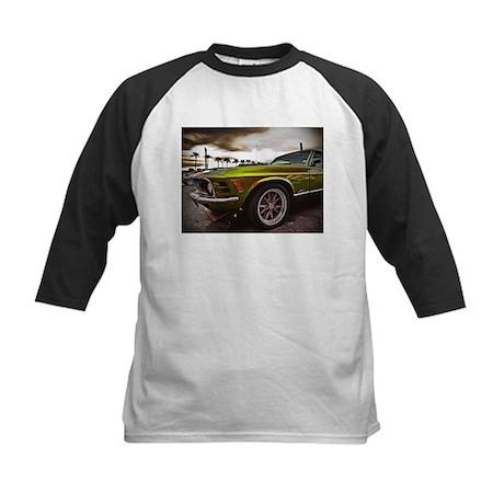 70 Mustang Mach 1 Kids Baseball Jersey
