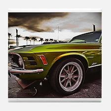 70 Mustang Mach 1 Tile Coaster
