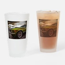 70 Mustang Mach 1 Drinking Glass