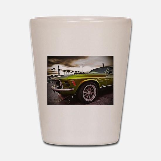 70 Mustang Mach 1 Shot Glass