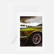 70 Mustang Mach 1 Greeting Card