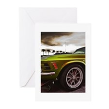 70 Mustang Mach 1 Greeting Cards (Pk of 10)
