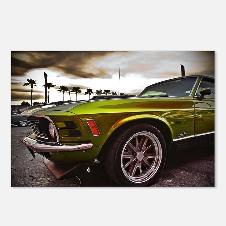 70 Mustang Mach 1 Postcards (Package of 8)