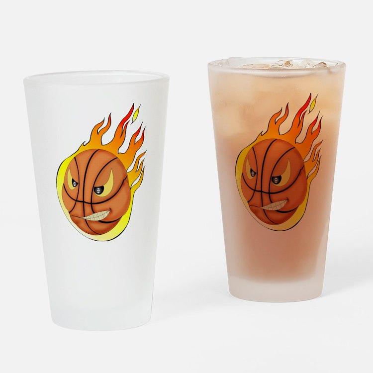 basketball Drinking Glass