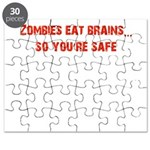 Zombies eat brains! Puzzle