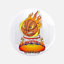 """Basketball 3.5"""" Button"""