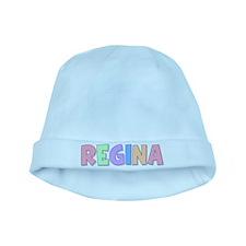 Regina Rainbow Pastel baby hat
