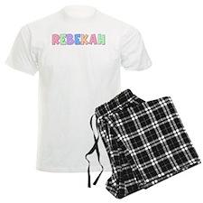 Rebekah Rainbow Pastel Pajamas