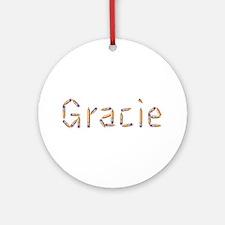 Gracie Pencils Round Ornament