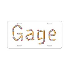 Gage Pencils Aluminum License Plate