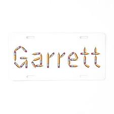Garrett Pencils Aluminum License Plate