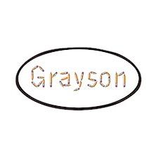 Grayson Pencils Patch