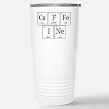 CaFFeINe [Chemical Elements] Travel Mug