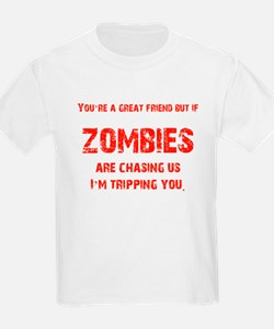 Zombies Chasing us! T-Shirt