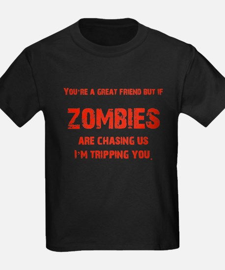 Zombies Chasing us! T