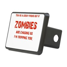 Zombies Chasing us! Hitch Cover