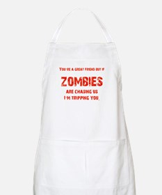 Zombies Chasing us! Apron